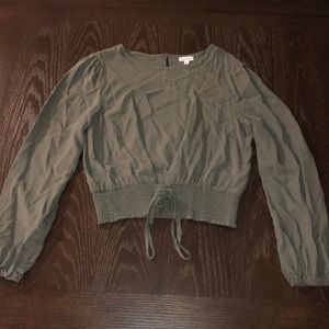 1 Love Fire, Gently Used, Green Blouse
